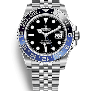 black and blue dial rolex