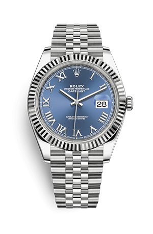 Datejust blue